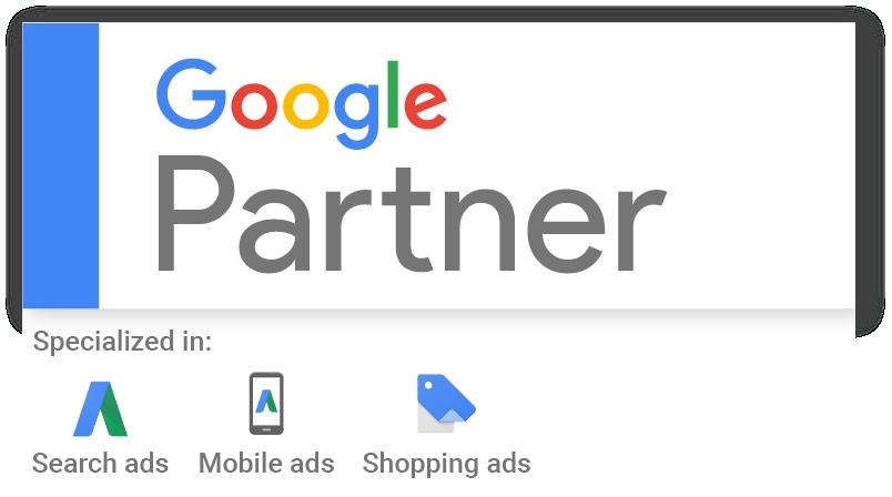 Agencia de marketing digital acreditada por Google Partners