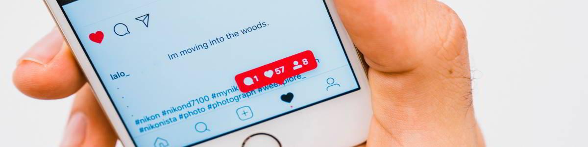 como escribir en instagram